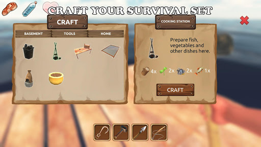Survival on Raft: Ocean apkpoly screenshots 4