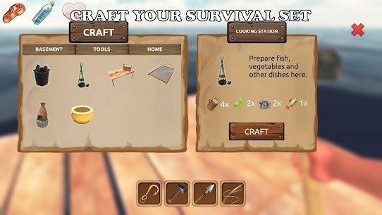 Survival On Raft Mod APK: Ocean (Unlocked Features) 4