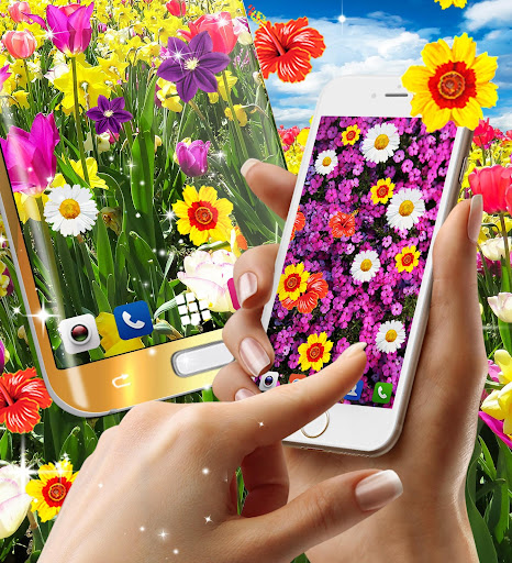 Flowers live wallpaper android2mod screenshots 7