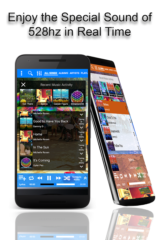 528 Player Pro - Lossless 432hz Audio Music Player – Apps on Google Play poster 0