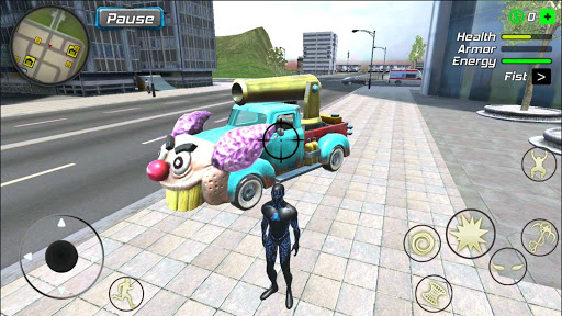 Black Hole Hero : Vice Vegas Rope Mafia android2mod screenshots 15