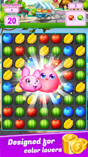 Fruity Blast – Fruit Match 3 Sliding Puzzle