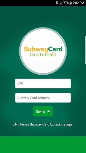 subway card guatemala screenshot 2