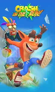 Crash Bandicoot: On the Run! (MOD, Unlimited Money) For Android 5