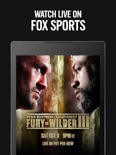 FOX Sports: Latest Stories, Scores & Events 5.29.0 Screenshots 15