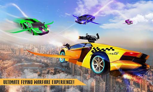 Flying Robot Car Games - Robot Shooting Games 2020 2.1 screenshots 3
