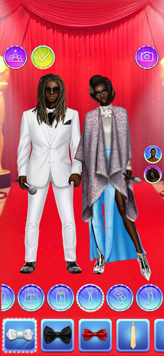 Celebrity Fashion Makeover - Dress Up Games 1.1 screenshots 4