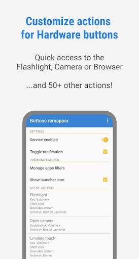 Buttons remapper - Mapping & Combination 1.17.6 Screenshots 1