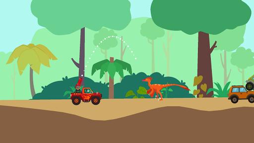Dinosaur Guard - Jurassic! Driving Games for kids  screenshots 9