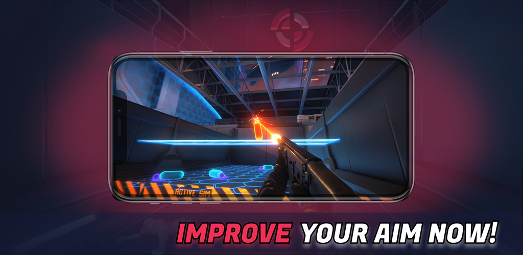 3D Aim Trainer - Shoot Like A Pro Gamer! poster 0