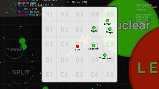 Blob io - Divide and conquer multiplayer gp11.5.0 screenshots 4