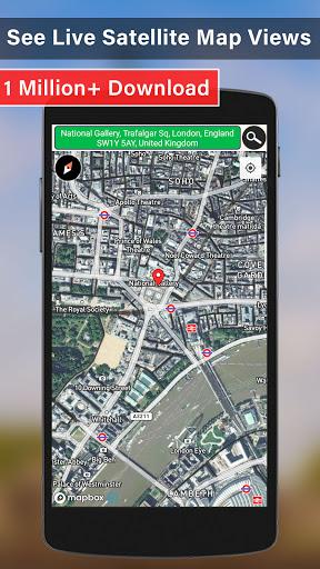 GPS Maps Navigation, Street View & Offline Map  screenshots 1