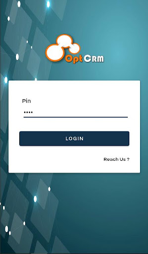 optcrm: sfa reporting app screenshot 1