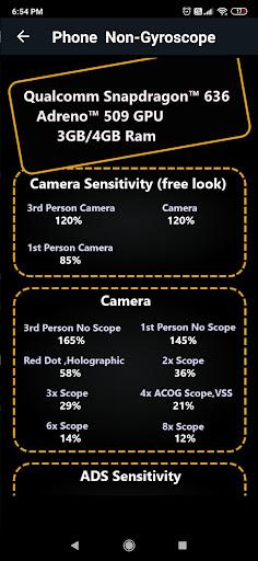 Sensitivity for u00dfattlegrounds - Puu1e9eG Mou00dfile  Screenshots 4