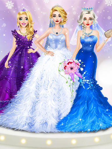Ice Princess Wedding Dress Up Stylist 0.11 screenshots 8