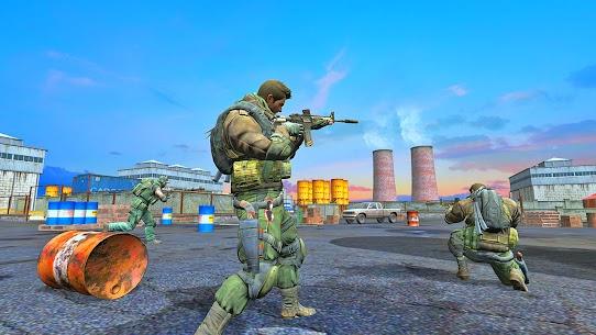 Modern Commando Strike : Free Shooting Games Mod Apk 2.5 5