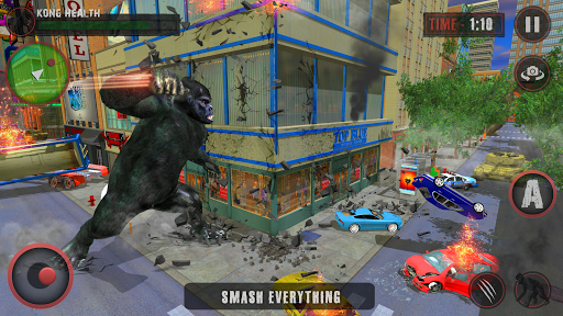 Godzilla & Kong 2021: Angry Monster Fighting Games 3 screenshots 5