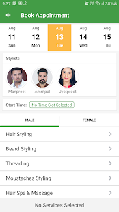 MStyle Salon Screenshot
