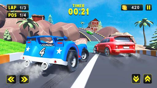 extreme kids car racing game 2020 screenshot 2