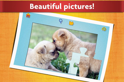 Dogs Jigsaw Puzzles Game - For Kids & Adults ud83dudc36 screenshots 15