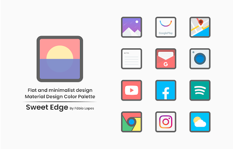 Sweet Edge Apk- Icon Pack 1.8 (Paid) Download 3