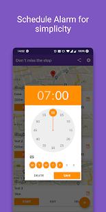 Don't miss the stop (Location Alarm / GPS Alarm)