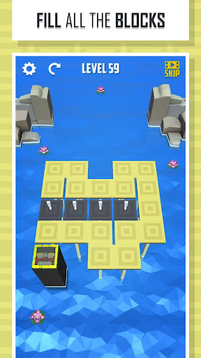 folding lines - puzzle game screenshot 3