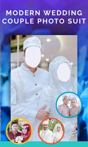 Modern Muslim Wedding Couple Photo Suit 1.3 Screenshots 5
