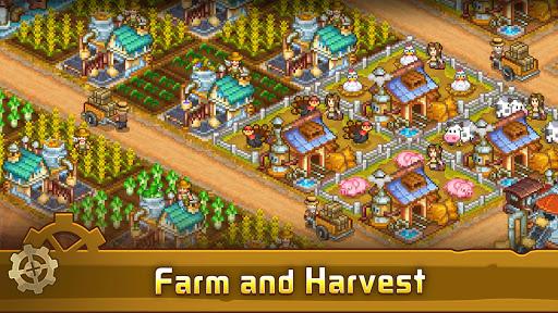 Steam Town: Farm & Battle, addictive RPG game  screenshots 5