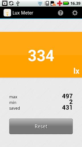 Lux Meter  screenshots 1