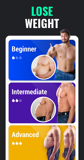 Lose Weight App for Men - Weight Loss in 30 Days  Screenshots 2