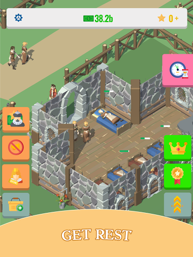 Idle Medieval Village: 3d Tycoon Game  screenshots 12