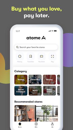 Atome ID u2013 Belanja Sekarang Bayar Nanti, Bunga 0% apktram screenshots 2