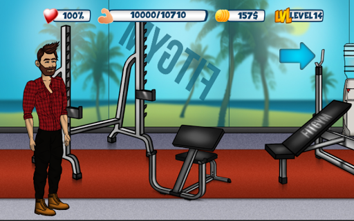 Iron Muscle 2 - Bodybuilding and Fitness game  screenshots 5
