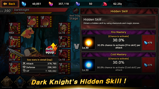 Dark Knight : Idle RPG game  screenshots 7