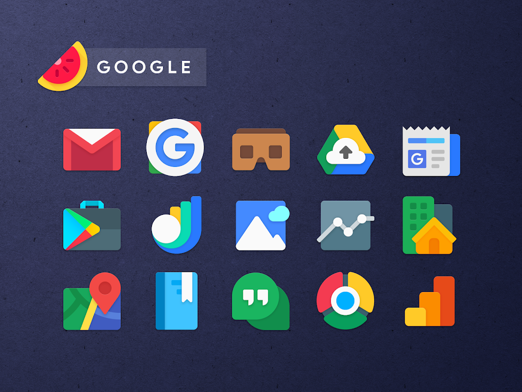 Sliced Icon Pack  poster 0