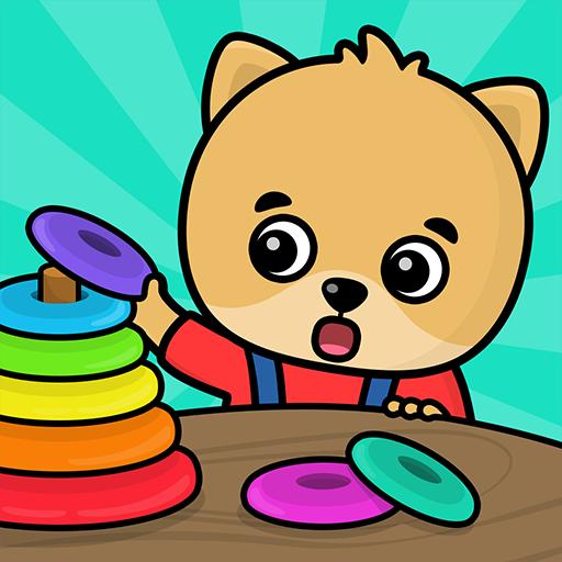 الأشكال والألوان – ألعاب للأطفال الصغار
