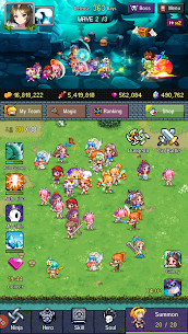 Hero Evolution 2 : Ninja Girls MOD Apk 2.4.2 (Unlimited Money) 1