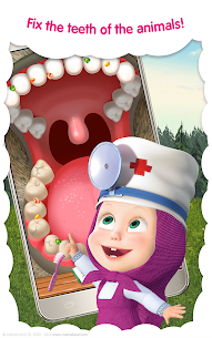 Masha and the Bear: Free Animal Games for Kids 9