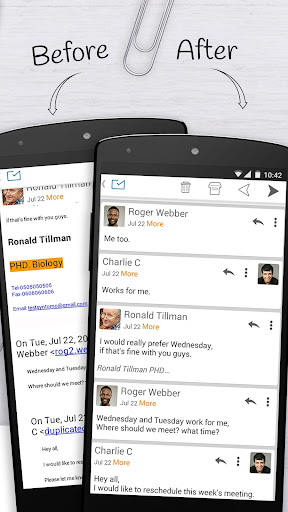 Email Exchange + by MailWise  screenshots 3