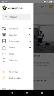 Multimedios Screenshot
