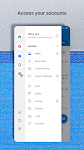 screenshot of Microsoft Outlook: Secure email, calendars & files