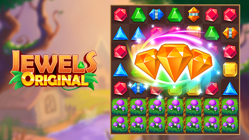 Jewels Original - Classical Match 3 Game 1.0.3 screenshots 4