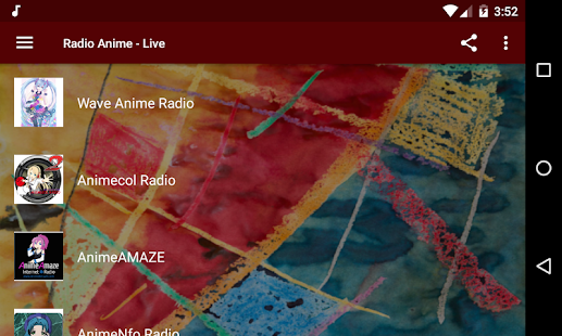 Radio Anime - Live Music From Japanese Anime OST Screenshot