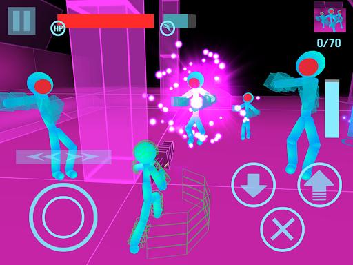 Stickman Neon Gun Warriors Apkfinish screenshots 13