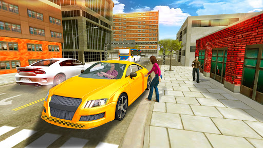 Taxi Sim Game free: Taxi Driver 3D - New 2021 Game apkslow screenshots 7