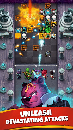 Battle Bouncers - RPG Puzzle Bomber & Crusher 1.13.0 screenshots 3