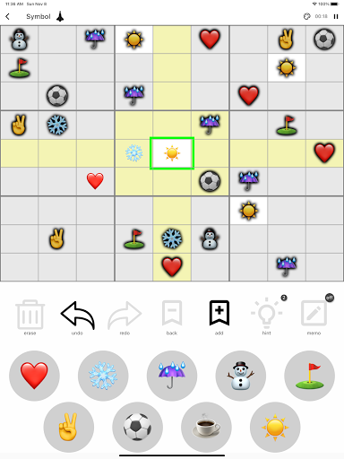 All Sudoku - 5 kinds of sudoku puzzle in one app screenshots 14