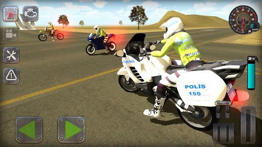 Trafik Polisi Motorsiklet Simülatör Oyunu 1.3 screenshots 1