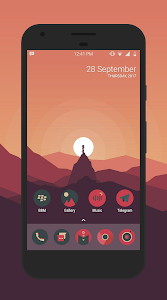 Sagon Circle Icon Pack: Dark UI 10.3 (Patched)
